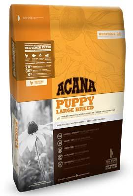 ACANA PUPPY LARGE BREED (АКАНА ПАППИ ЛАДЖ БРИД) — сухой корм для щенков крупных пород