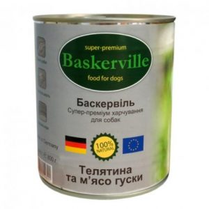 BASKERVILLE Телятина и мясо гуся