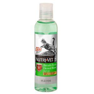Nutri-Vet Breath Fresh Жидкость для кошек от зубного налета и запаха из пасти, концентрат, 118 мл