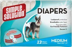 Disposable Diapers Medium Гигиенические подгузники для животных