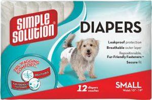 Disposable Diapers Small Гигиенические подгузники для животных