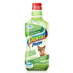SynergyLabs Dental Fresh Cat Жидкость от зубного налета и запаха из пасти кошек