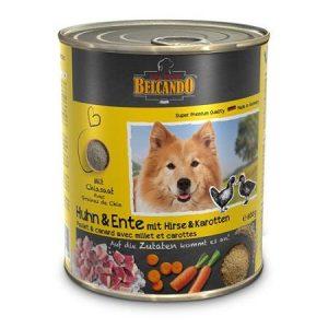 Консервы для собак Belcando (Белькандо) Курица и утка с пшеном и морковью