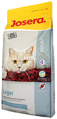 Josera Léger сухой корм для малоактивных и склонных к полноте, кастрированных и стерилизованным кошек