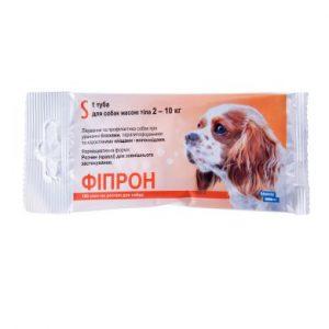 Фипрон спот-он S (100), капли для собак весом 2-10 кг