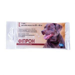 Фипрон спот-он L (100), капли для собак весом 20-40 кг