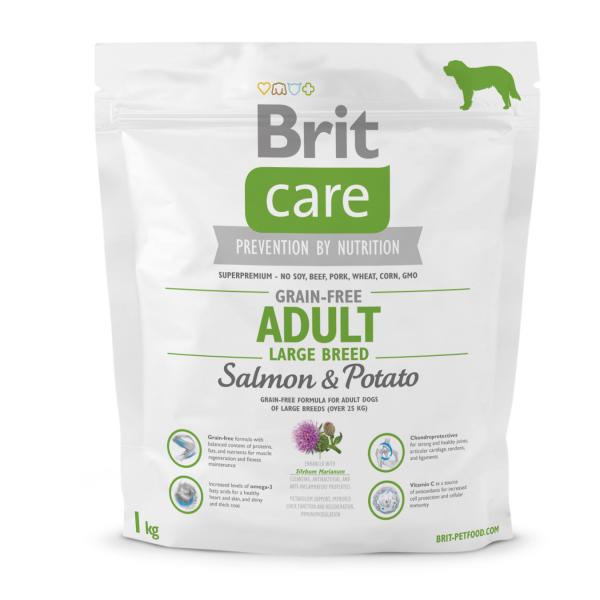 Brit Care GF Adult Large Breed Salmon & Potato