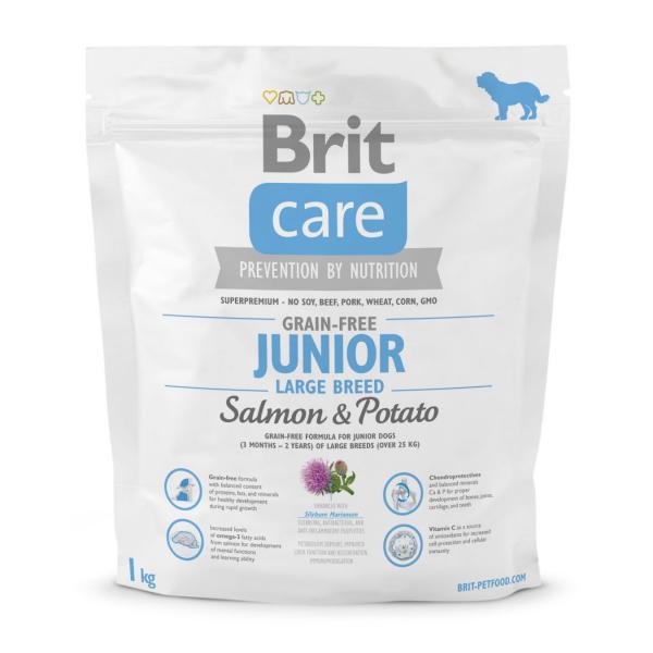 Brit Care GF Junior Large Breed Salmon & Potato