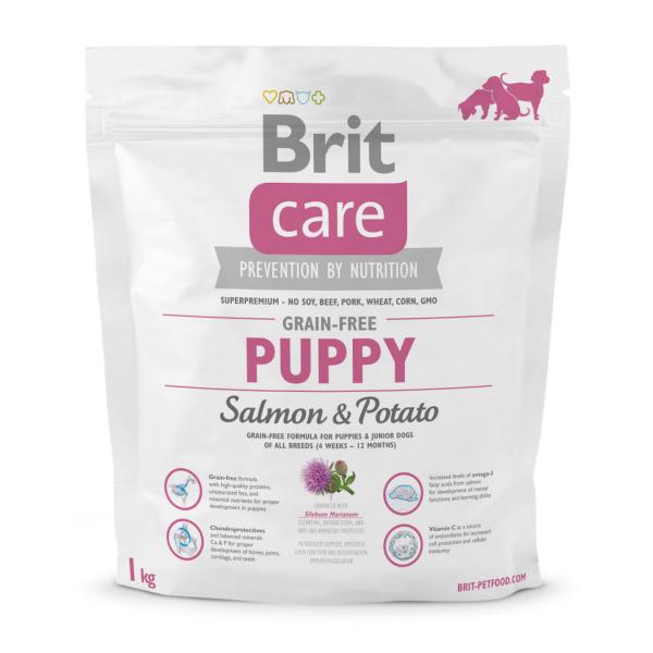 Brit Care GF Puppy Salmon & Potato