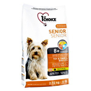 1st Choice Senior Toy&Small Breeds