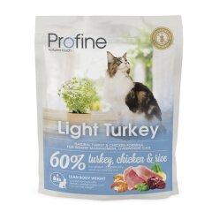 Сухой корм для кошек с лишним весом Profine Cat Light 300 г (индейка и курица)