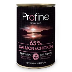 Влажный корм для собак Profine Salmon and Chicken 400 г (лосось и курица)